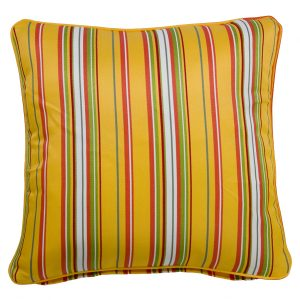 Albena Yellow Throw Cushion