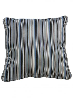 Bray Blue Throw Cushion