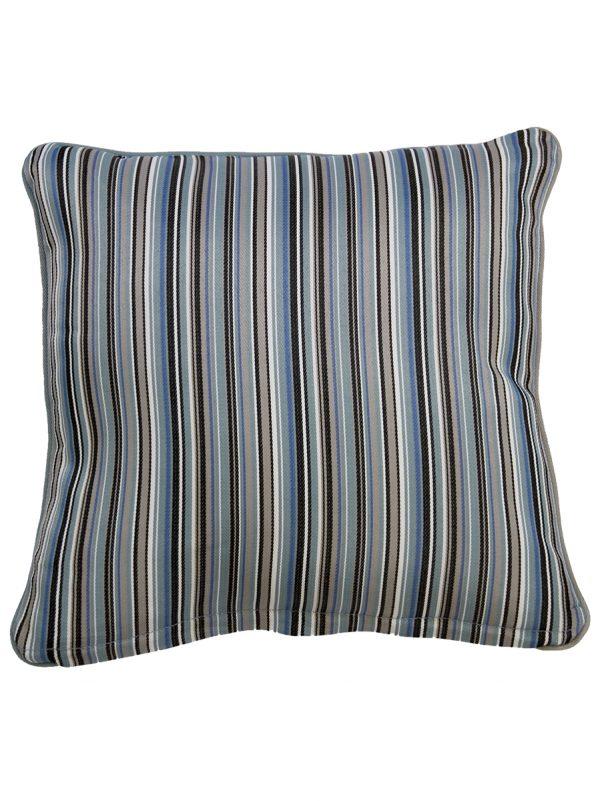 Bray Blue Throw Cushion