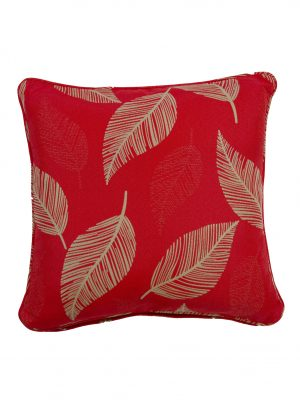 Camburi Red Throw Cushion