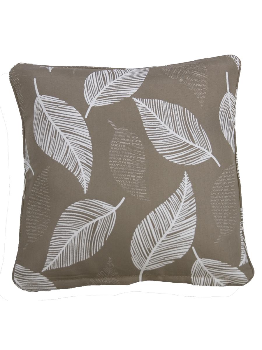 Camburi Tan Outdoor Throw Cushion Embellish Imports
