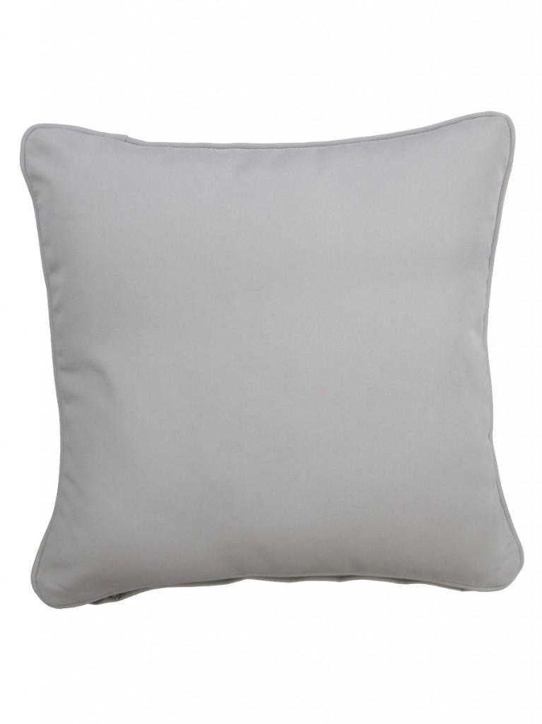 Cartenza Light Grey Outdoor Throw Cushion