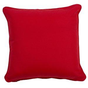 Cartenza Red Throw Cushion