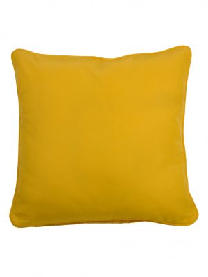 Cartenza Yellow Throw Cushion