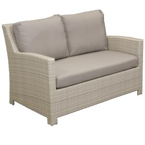 Casablanca Two Seater Wicker Outdoor Sofa
