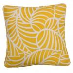 Coronardo Yellow Throw Cushion
