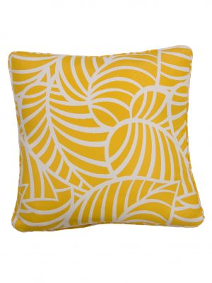 Coronardo Yellow Throw Cushion