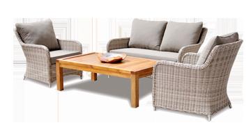 Fraser Colonial Sofa Setting Outdoor Garden Furniture