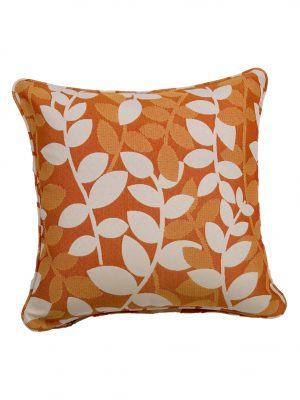 Katapus Orange Throw Cushion