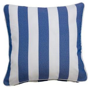 Koblenz Blue Throw Cushion