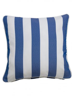 Koblenz Blue Throw Cushion