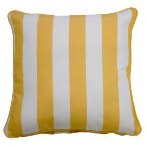 Koblenz Yellow Throw Cushion