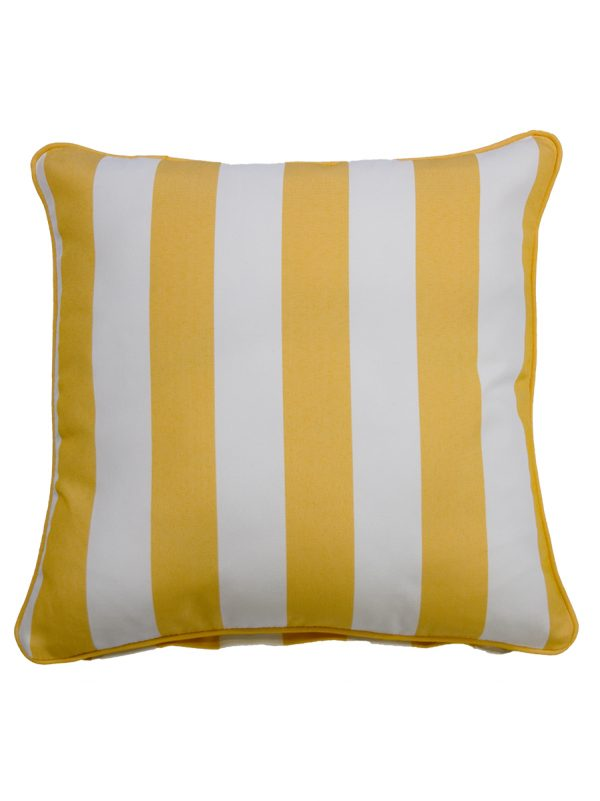 Koblenz Yellow Throw Cushion