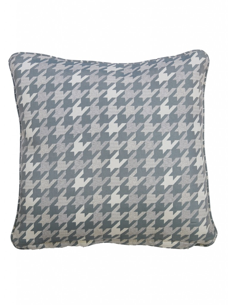 Lapunta Blue Outdoor Throw Cushion Embellish Imports