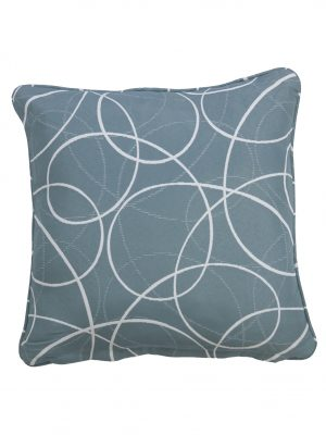 Laytown Blue Throw Cushion