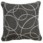 Laytown Grey Throw Cushion