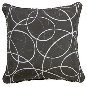 Laytown Grey Throw Cushion