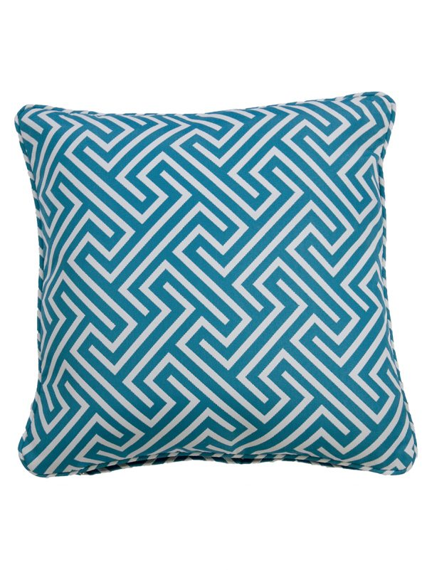 Negrill Aqua Throw Cushion