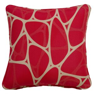 Parlee Red Throw Cushion