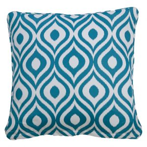 Pinamar Aqua Throw Cushion