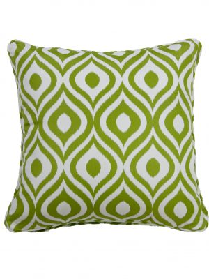 Pinamar Green Outdoor Throw Cushion