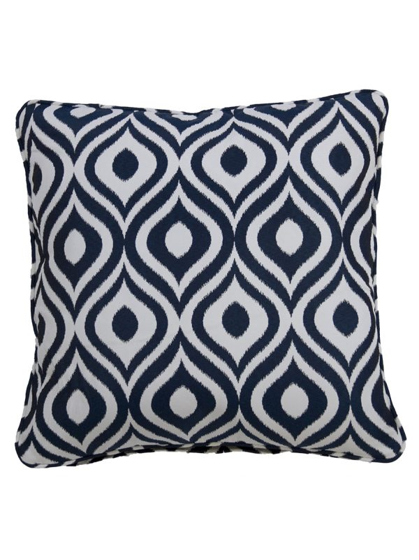 Pinamar Navy Throw Cushion