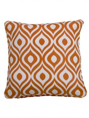 Pinamar Orange Throw Cushion