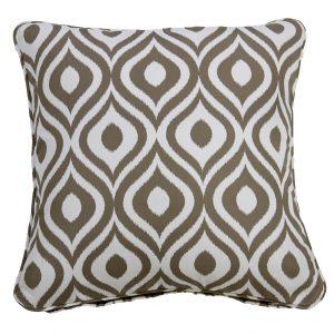 Pinamar Tan Throw Cushion