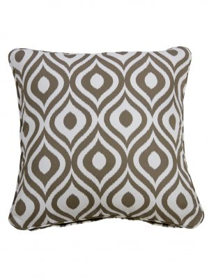 Pinamar Tan Throw Cushion