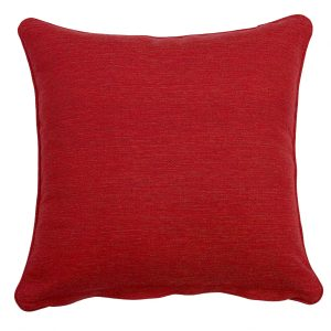Southend Red Outdoor Throw Cushion