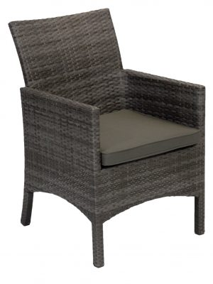 Villa Full Side Wicker Outdoor Dining Chair