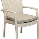 Villa Arm Chair Salt