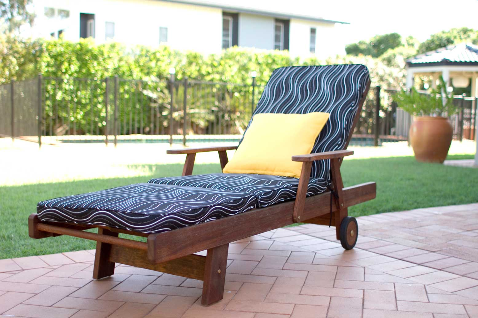 Sun Lounge Outdoor Cushion
