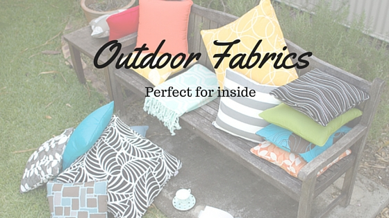 Outdoor Fabrics Cushion throws colourful UV stable