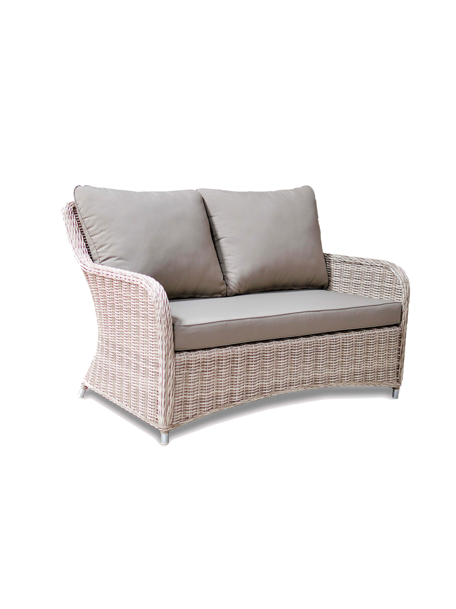 Fraser colonial two seat outdoor sofa embellish imports for Outdoor furniture 2 seater