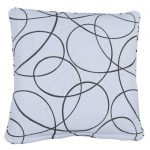 Laytown White Small Outdoor Throw Pillow