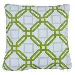 Natadola Green Outdoor Throw Cushion