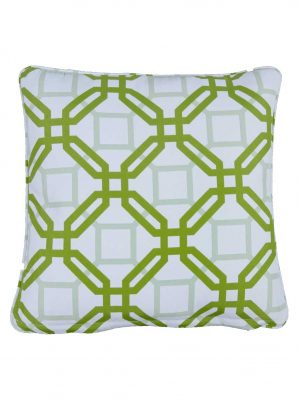 Natadola Green Outdoor Throw Cushion