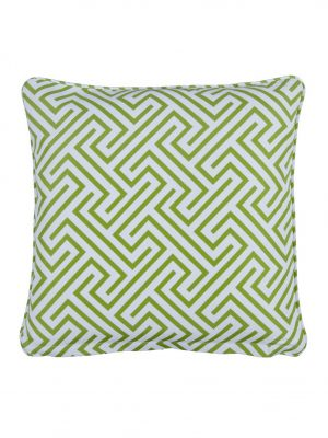Negrill Green small Outdoor Throw Pillow Negrill
