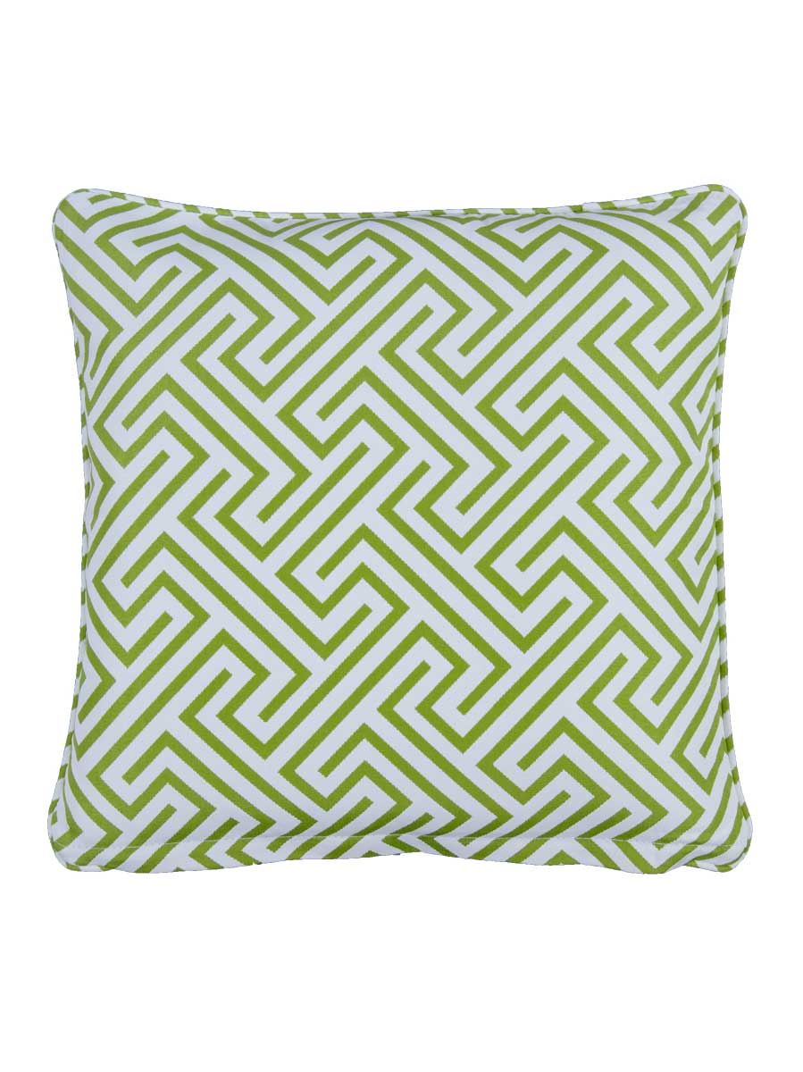 Negrill Green Large Outdoor Throw Cushion Embellish Imports