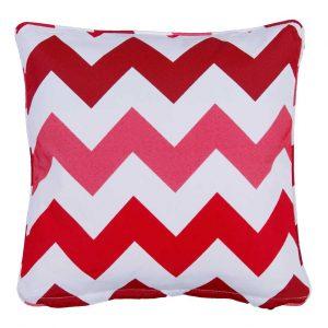 Rondina Red Outdoor Throw Pillow