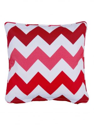 Rondina Red Outdoor Throw Pillow