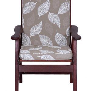 Camburi Tan Low Back Chair Cushion