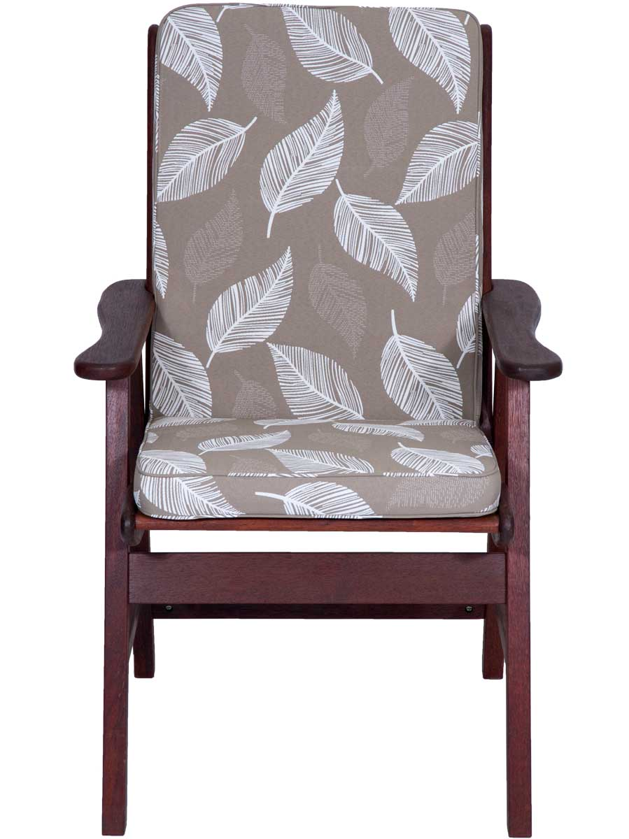 camburi tan low back chair cushion embellish imports
