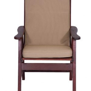 Hazelnut Low Back Chair Cushion