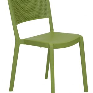 Spot Resin Cafe Chair Olive Commercial outdoor furniture