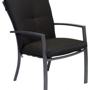 Malibu Outdoor Cushion Chair Gunmetal