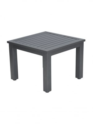 Slat Aluminium Coffee table 60x60 outdoor