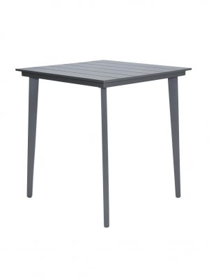 Aluminium outdoor bar table