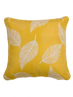 Camburi Yellow Throw Cushion